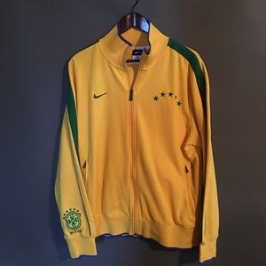 Nike Brazilian World Cup Warmup Jacket